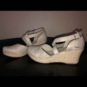 b.o.c. Wedge/Espadrille shoes